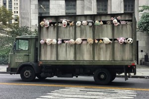 Camion banksy